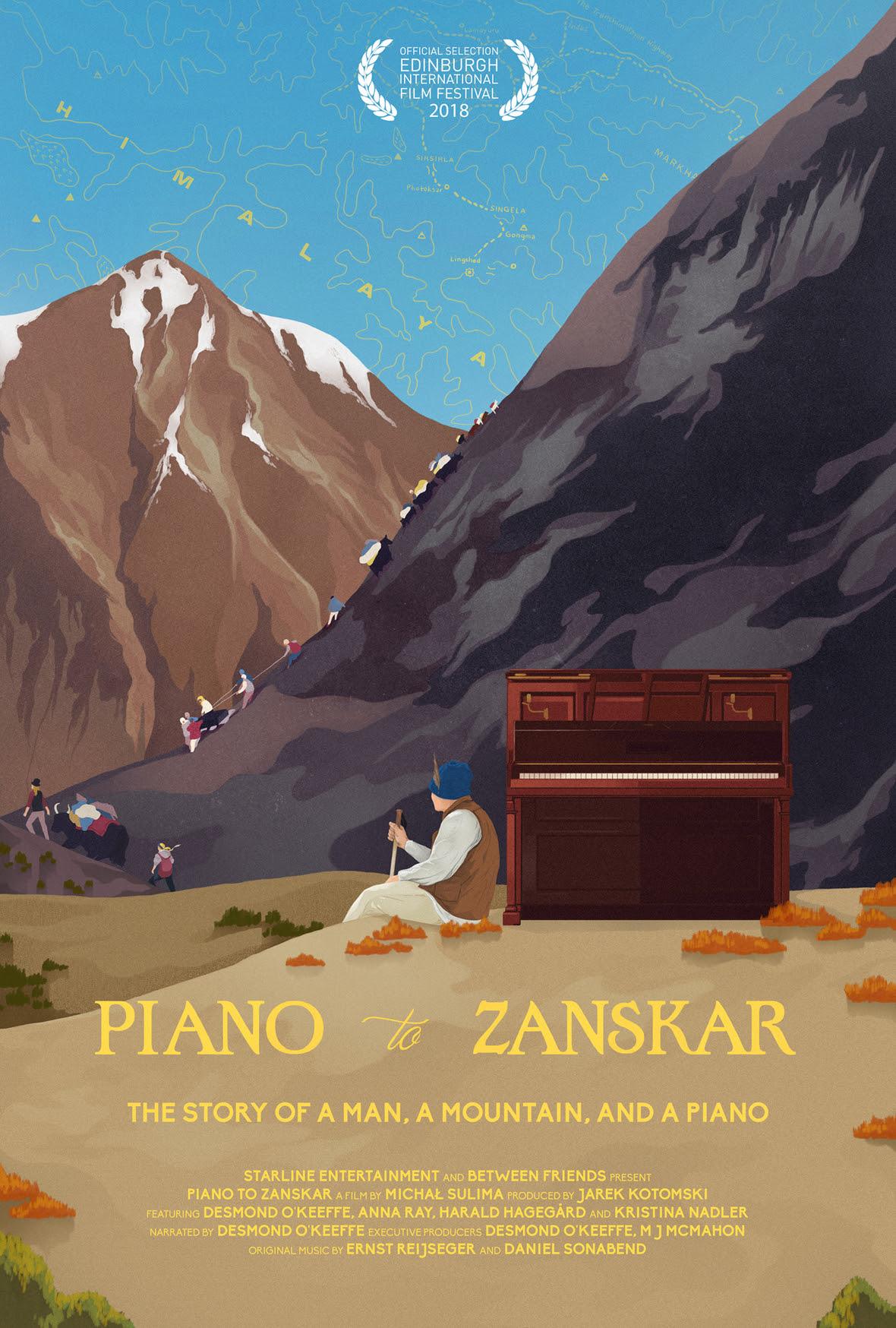 Piano to Zanskar Poster