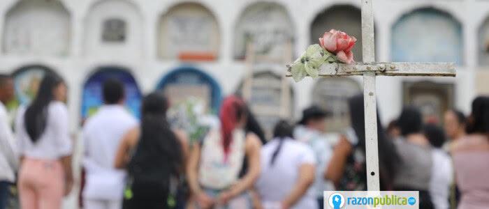JEP víctimas cementerio