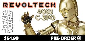 STAR WARS REVOLTECH #003 - C-3PO