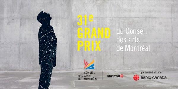 31e grand prix du Conseil des arts de Montréal