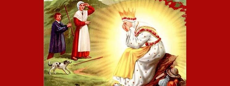 Znalezione obrazy dla zapytania LITANIA DO MATKI BOZEJ SALETYNSKIEJ