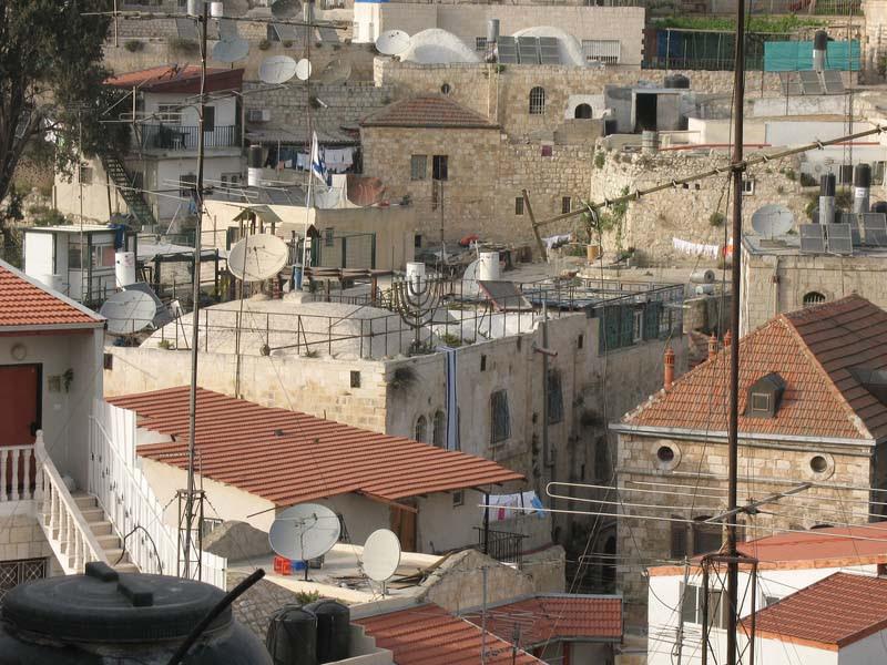 Ariel Sharon's Jerusalem Muslim Quarter house