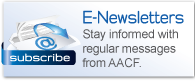 Subscribe Today to Receive the Latest News & Information from AACF