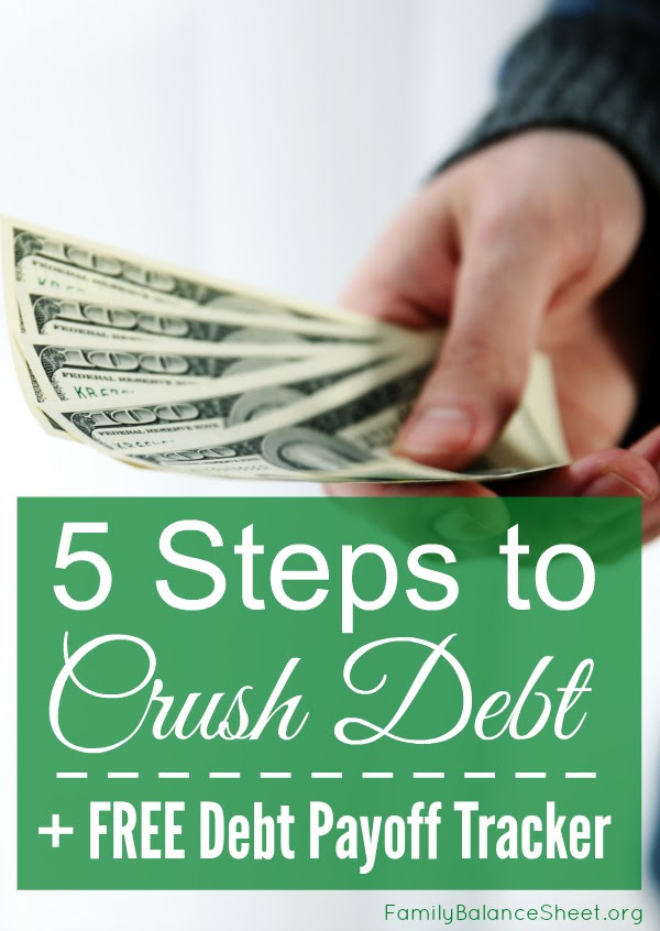 5 Steps to Crush Debt in 2016