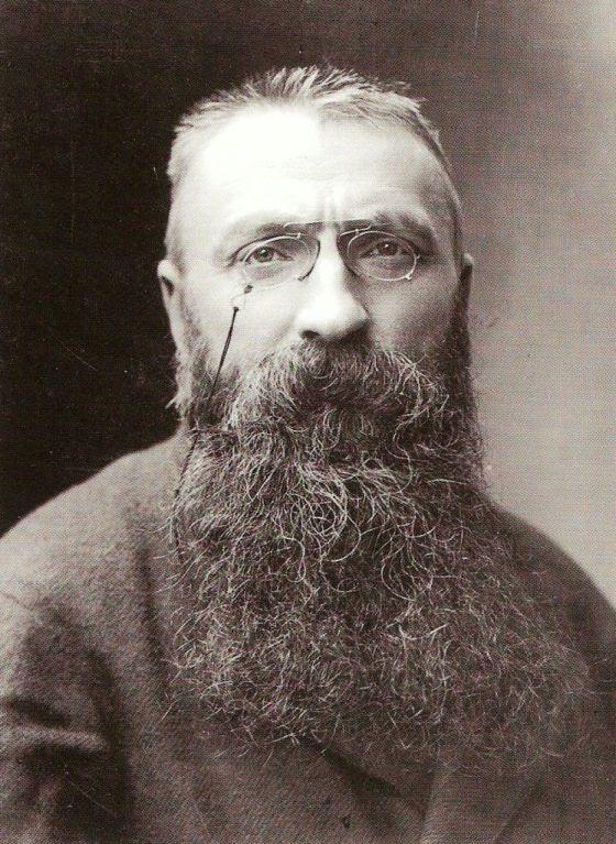 Auguste_Rod in fotografiado por Nadar en 1891