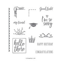 I Say Hello Photopolymer Stamp Set