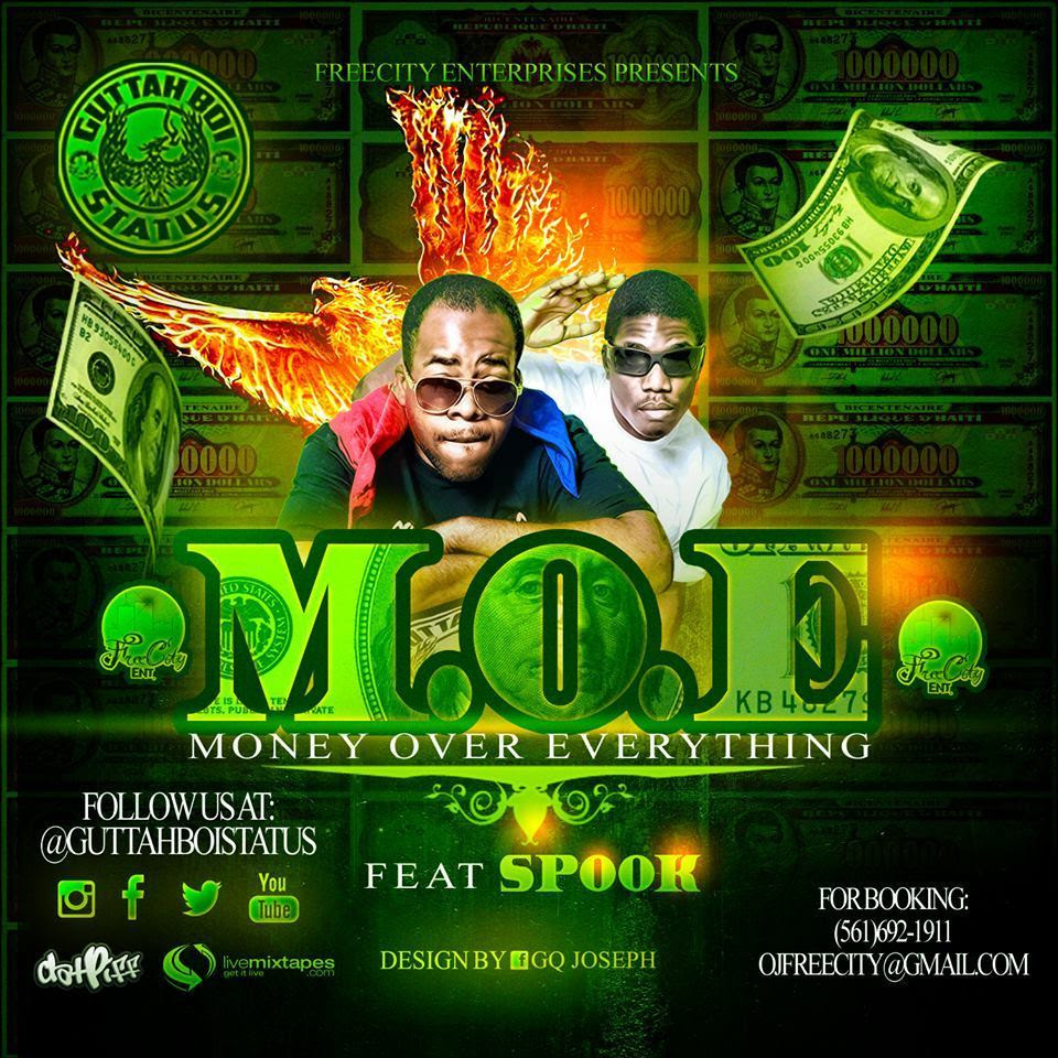 Guttah Boi Status ft Spook - M.O.E. artwork