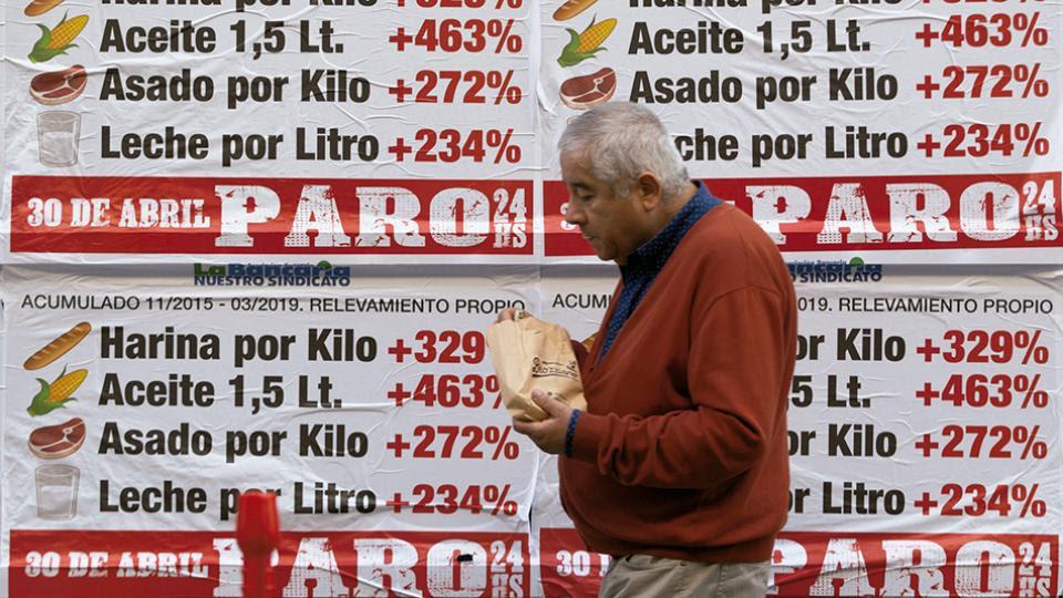 Con la huelga, los sindicatos reclaman un cambio de rumbo en la política económica.