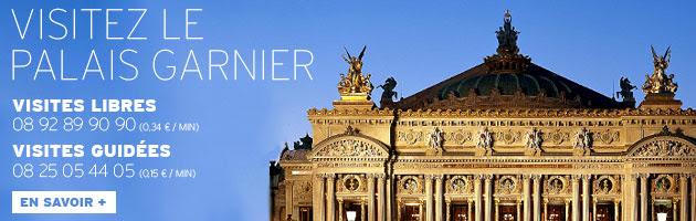 Visiter le Palais Garnier