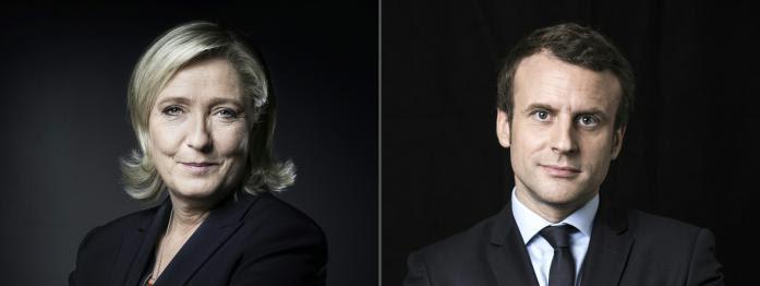 Macron et Le Pen toujours en tête, nouveau soutien pour Hamon, menaces de mort à l'Elysée...