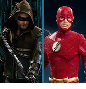 CW TV REAL MASTER SERIES 1/8 SCALE FIGURES