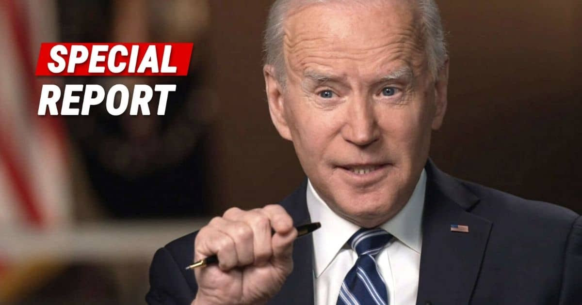 President Biden Loses It In Shock Interview - Joe Makes The Worst Comment Ever By An American President