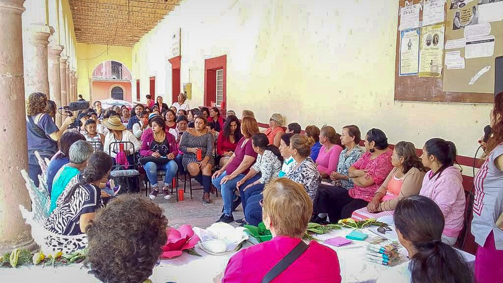 Mujeres defensoras contra el extractivismo