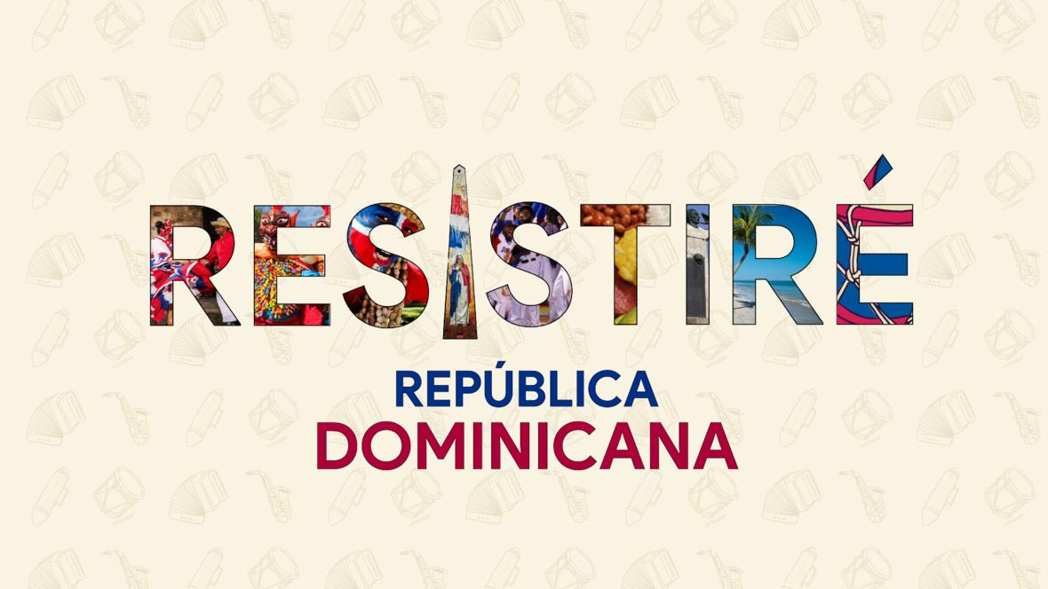 RESISTIRE Republica Dominicana LOGO Oficial