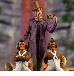 Willy Wonka and the Chocolate Factory Willy Wonka 1/10 Deluxe Art Scale Limited Edition Statue