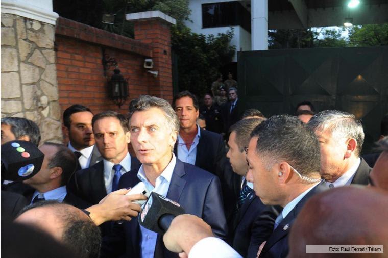ARGENTINA: Presidenta Cristina y presidente electo Macri mantuvieron un encuentro de cara a la transición
