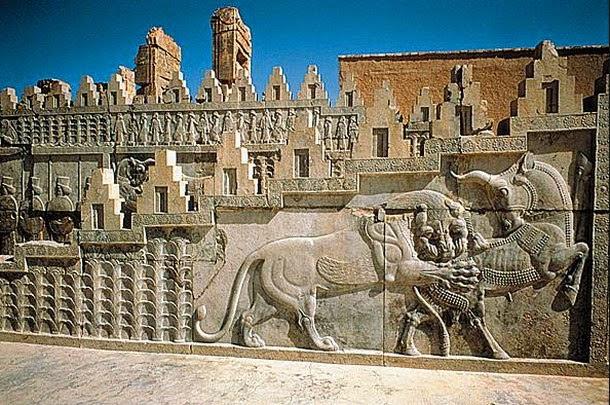 persepolis1 - Extraña alineacion a nivel mundial de antiguas construcciones