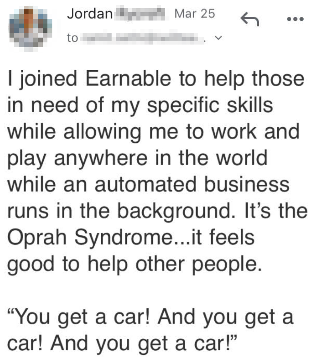 to help people in need