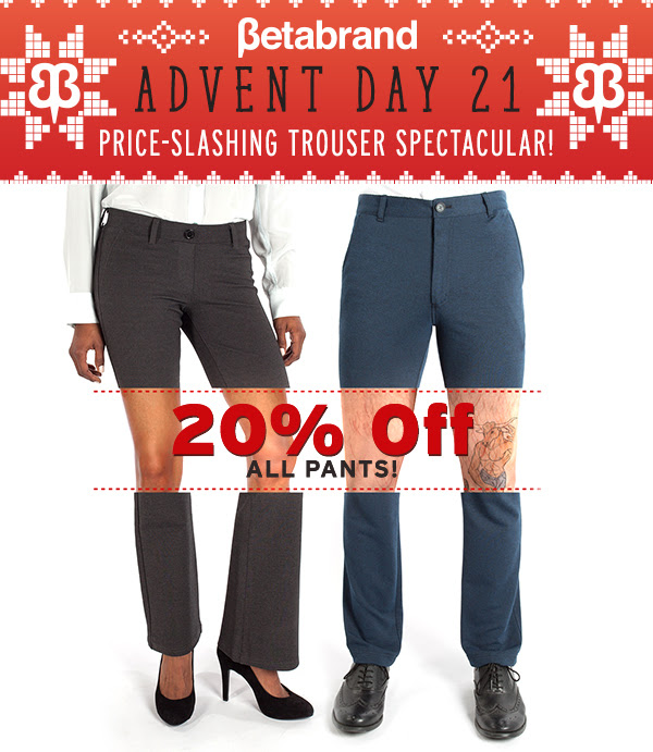 20% off All Pants!