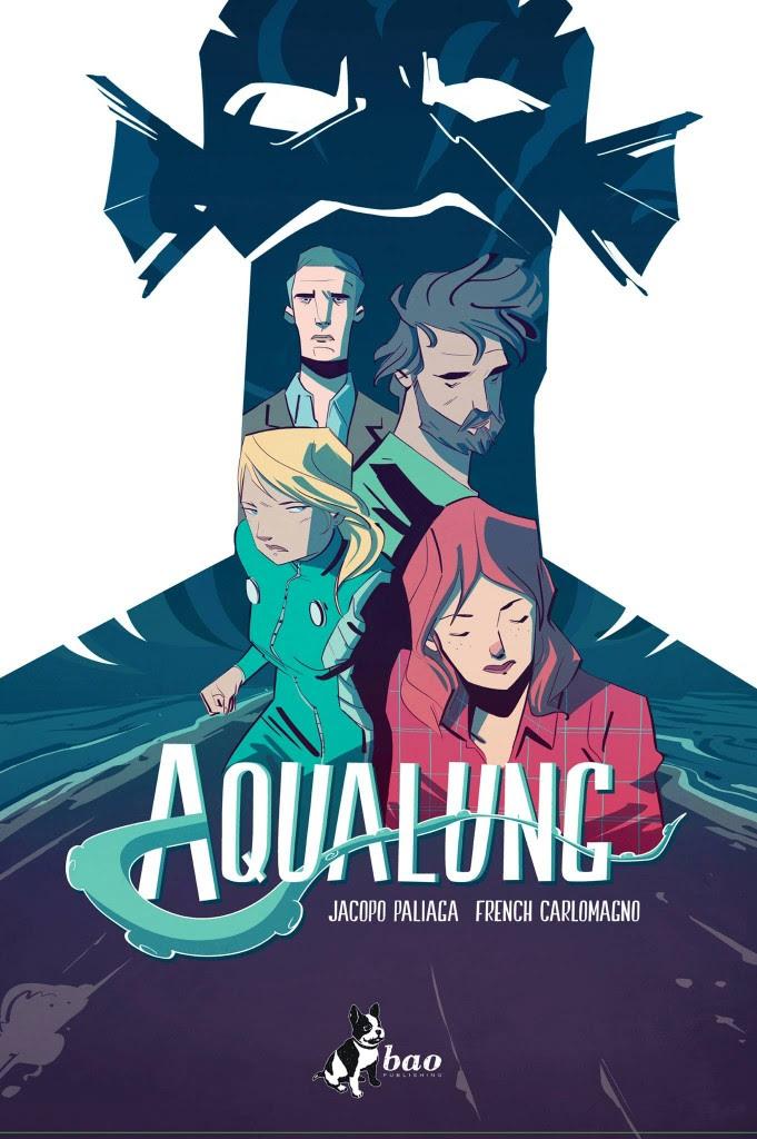In libreria arriva la prima stagione di Aqualung di Paliaga - Carlomagno.