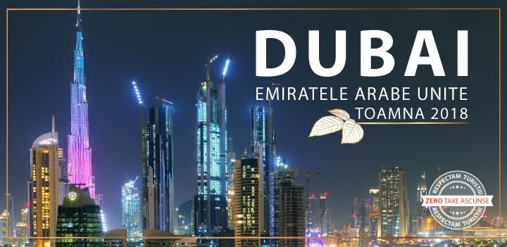 Super oferte Dubai! Plecari din Bucuresti si Cluj in perioada 14.10 – 24.11