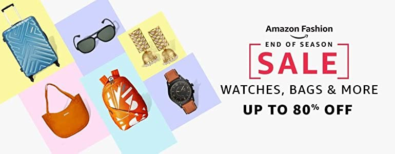 Watches, Bags & more : Up to 80% off