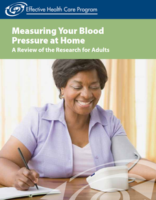 Image of Measuring Your Blood Pressure at Home: A Review of the Research for Adults publication cover