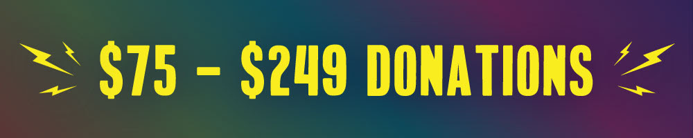 $75 - $249 Donations