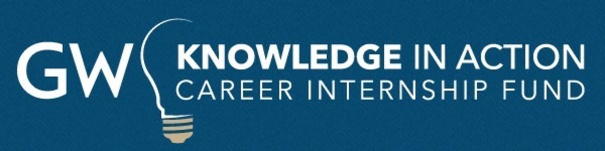 GW knowledge in Action Career Internship Fund