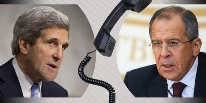 Lavrov y Kerry examinan por teléfono las maneras de promover el cese de hostilidades en Siria
