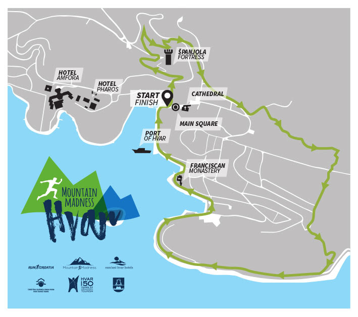 Mountain Madness Hvar 2018 - trasa utrke