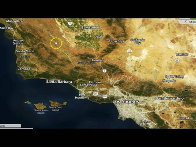 ALERT: SAN ANDREAS FAULT 'LARGE SCALE' ACTIVITY DETECTED  Sddefault