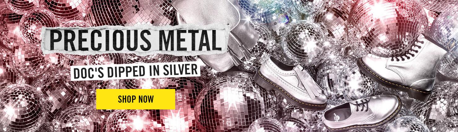 PRECIOUS METAL - Doc's dipped in silver - Shop Metallics