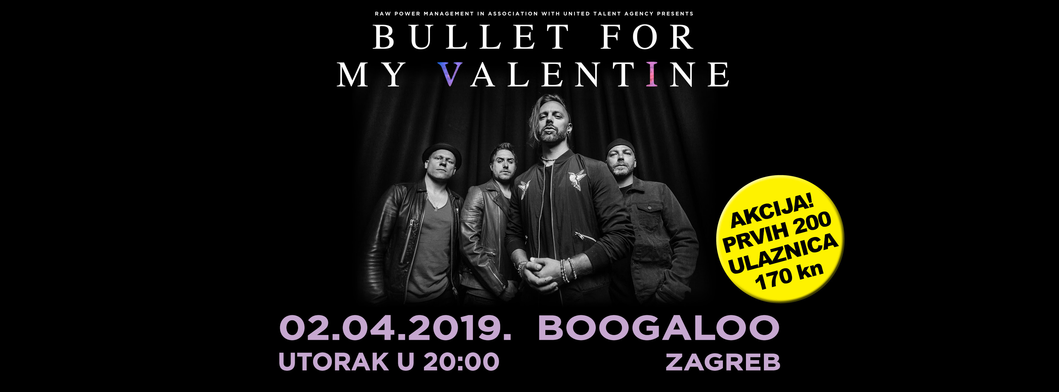 Bullet For My Valentine u Zagrebu!