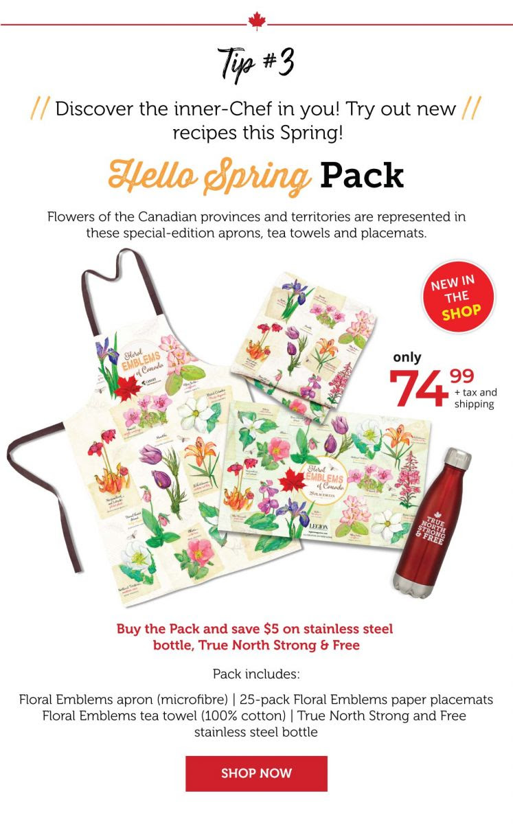 Hello Spring Pack