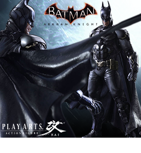 "BATMAN ARKHAM KNIGHT PLAY ARTS KAI 11"" BATMAN"