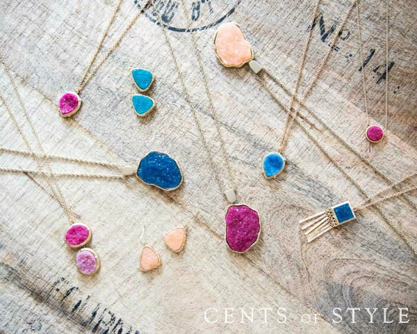IMAGE: Fashion Friday- 2/27/15- Druzy Jewelry- $4.99 & FREE SHIPPING w/ Code DEAL27
