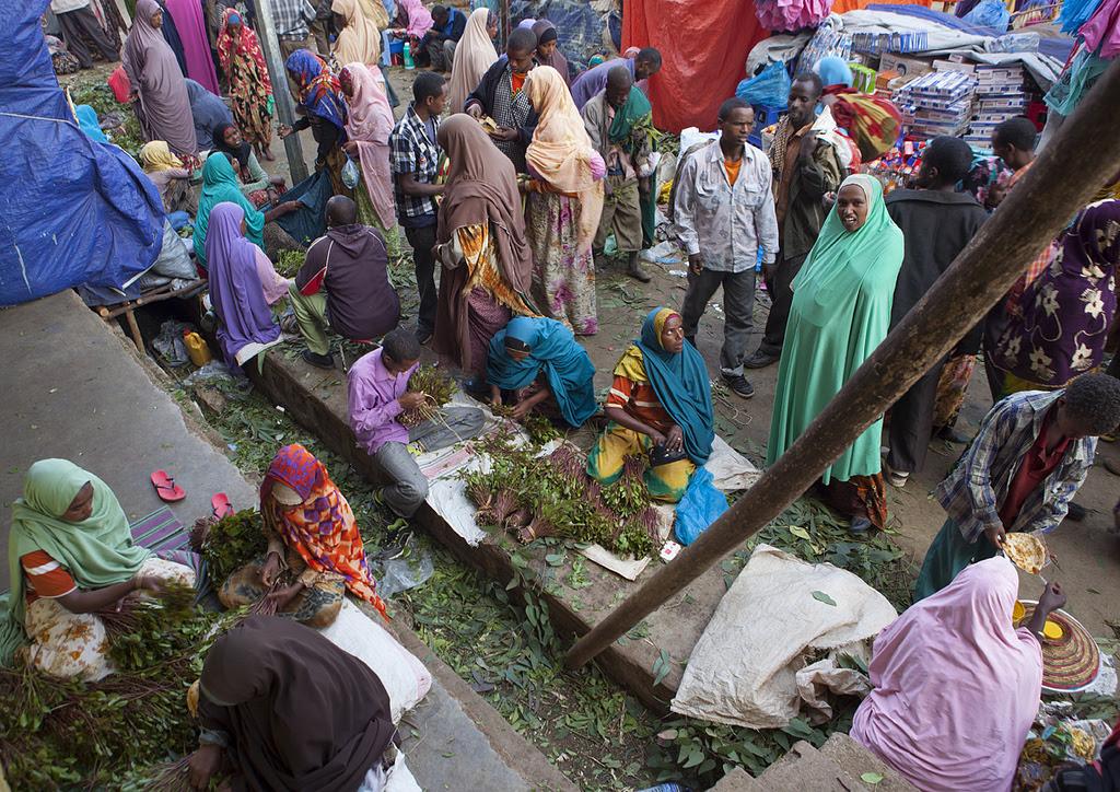 Somali khat market