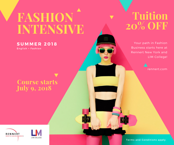 Learn English and Fashion Business