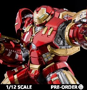Avengers: Age of Ultron Infinity Saga DLX Iron Man Mark 44 Hulkbuster 1/12 Scale Figure