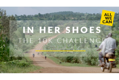 Join the In Her Shoes 10k Challenge