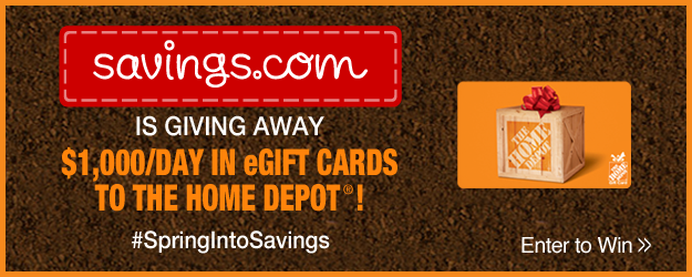 Home Depot Giftcard Giveaway