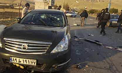 Iran vows retaliation after top nuclear scientist shot dead near Tehran
