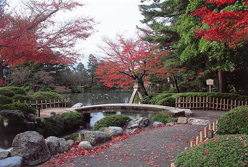 Kenroku-en Garden em Kanazawa