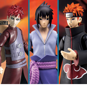 Naruto Poseable Action Figure Wave 2