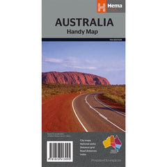 Australia Handy Map Cover Page