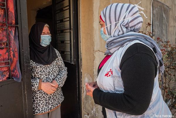 Fauziya y su familia forman parte de la mitad de la población de Líbano que ahora vive en la pobreza extrema.