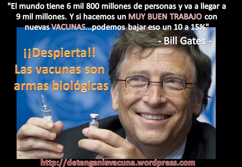 Resultado de imagen para bill gates y las vacunas