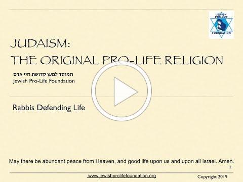 Rabbis Defending Life