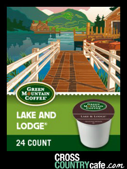 Lake and Lodge Keurig K-cup coffee